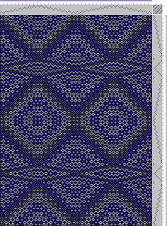 Hand Weaving Draft: cw117692, Crackle Design Project, 10S, 10T - Handweaving.net Hand Weaving and Draft Archive