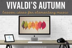 Great lesson ideas for Vivaldi's Autumn from The Four Seasons. Would work for a non-music sub too.