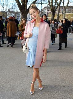 It girls en la front row de la Fashion Week Londres: Peaches Geldof