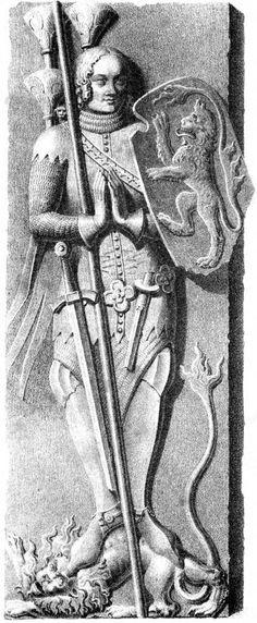 Large central dag, Albrecht des Schönen 1360