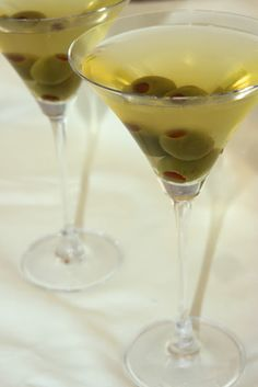 DIRTY MARTINI- Know the recipe for when you're feeling a James Bond-esque night coming on with the husband. There are just some things you have to know how to do in life, and making these cocktails is one of them. Make them for brunch, dinner parties, or simply for yourself after work. Click through for all the recipes here.