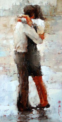 Andre Kohn The Kiss series #16