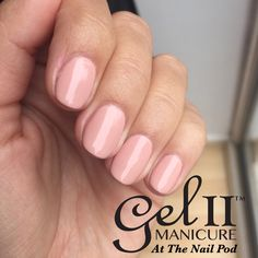 Gel II in Soothing, the perfect nude nail