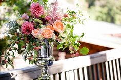 a beautiful arrangement by Sarah Winward.