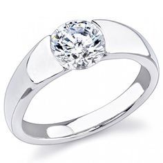 Solitaire #Diamond Engagement Ring