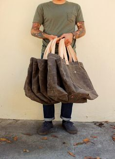 Tote bags - great for the grocery store, beach or farmers market.