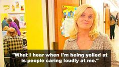 On always giving people the benefit of the doubt. | 23 Hilarious Amy Poehler Quotes To Get You Through The Day