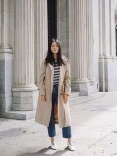 not my pictures. Indie Fashion, Slow Fashion, 90s Fashion, Autumn Fashion, Fashion Outfits, Andy Heart, Ethical Fashion Brands, Oversized Coat, Citizens Of Humanity Jeans