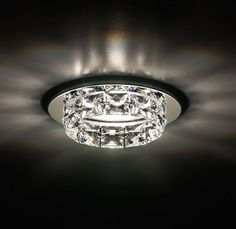 Spot halogène encastrable en cristal RINGLET By Swarovski Modern Recessed Lighting, Recessed Light Covers, Modern Light Fixtures, Light Fittings, Architectural Lighting Design, Home Lighting Design, Lighting Ideas, Interior Lighting, Swarovski