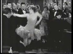 """Clip of Ziegfeld Follies girl Anne Pennington dancing in """"Night Parade"""" 1929. Oscar Levant playing piano, who composed the music You're Responsible."""