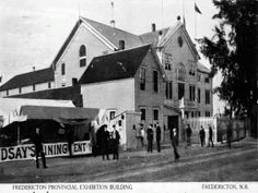 Fredericton Provincial Exhibition Building. Exhibition Building, Street View, History, Architecture, Arquitetura, Historia, History Activities, Architecture Illustrations, Architects