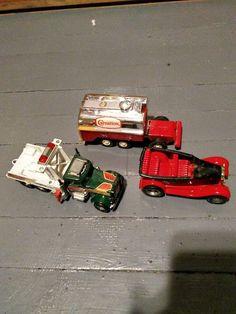 Vintage Toys Matchbox Peterbe, Tonka Carnation Truck Bed, Tonka Rod Convertible  #MatchboxTonka