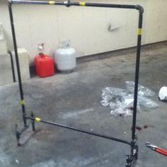 Freestanding Curtain Rod Relocate Pinterest Cas