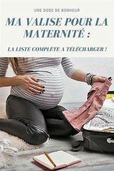 Tout ce dont vous aurez besoin pour votre séjour à la maternité...
