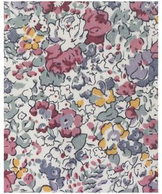 One of my favorite Liberty fabrics from when I was a little girl
