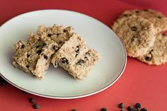 Paleo Cookie Dough Bars--> I MUST make these!