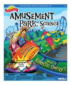 Take a look at this Scientific Explorer Amusement Park Science Kit by Poof-Slinky on #zulily today!