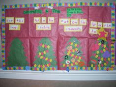 Interactive Writing:  How to Decorate a Christmas Tree