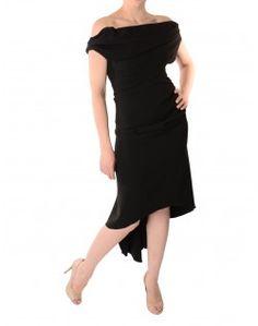 4c2f0dc626 Kevan Jon Black Brummel Sian Drape Dress Get up to 50% Off at Accent  Clothing