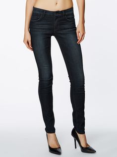 Guess Sophia Curve Skinny Upright Wash Jean from Just Jeans