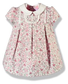 Sweet little dress. I wonder if you could do this with a Children's Corner Carol?