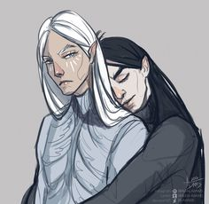 Манвэ и Мелькор Brothers by fr-Adams