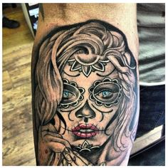 Day of the dead tattoo exact tattoo I want