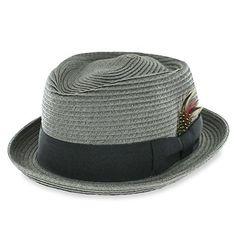 e3e12d59dfe05 Belfry Braid Jazz - Straw Diamond Porkpie Belfry Hats