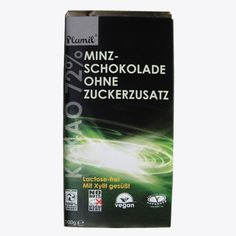 Die zuckerfreie Schohokolade für Geniesser mit hohen Ansprüchen:  - frei von tierischen Zutaten - frei von Gentechnik - keine versteckten Zutaten - mit Xylit gesüsst Chocolates, Mint, No Sugar, Products