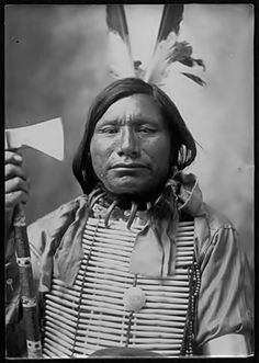 unknown Sioux man, probably 1899