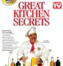 What Great Kitchen Secrets is All About  Over the years, Chef Tony's grandmother taught him all kinds of kitchen tips and tricks. He was able to use her knowledge to become a well-known chef who has introduced us to many handy kitchen gadgets.  Read more: http://www.yourenotstupid.com/great-kitchen-secrets-book-review/
