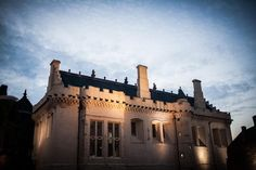 Stirling castle gently illuminated by the evening light at dusk on a crisp autumn day Stirling Castle, Dusk, Crisp, Wedding Photography, Autumn, In This Moment, Mansions, House Styles, Fall Season