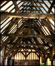 Merchant Adventurers' Hall York - Great Hall is Europe's finest medieval Guildhall and is scheduled as an ancient monument. Probably nowhere else in the world can be seen in one building the three rooms serving the three functions of a medieval guild. The Hall was built between 1357-1361 and is of major international importance.