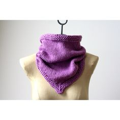 MORE COLORS The Organic Cotton Bandana Cowl Hand Knit 100% Pure... (€49) ❤ liked on Polyvore featuring men's fashion, men's accessories, men's scarves, mens tube scarf, mens scarves, mens bandana, mens neck warmer and mens infinity scarves