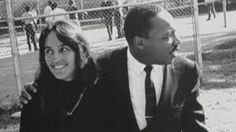 THE Rev Dr Martin Luther King Jr and Joan Baez.