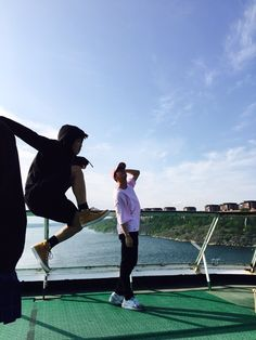 BTS Twitter [160526] Trans @BTS_twt : I wanted to take a picture with an atmosphere but.. (feat. Jeon Jungkook) [Jin]