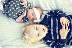 big brother and little sister.. so so sweet
