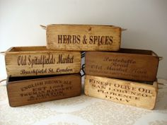 Great Images About Vintage Wooden Box Vintage Wood