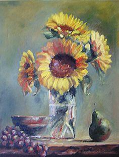 lindarovolis - Paintings - Fall Harvest