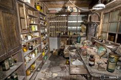 Abandoned Hospitals - Pharmacy Jordy Meow