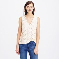 Collection daisy eyelet shell