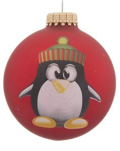 Buy Penguin Glass Ball - Personalized Children's Christmas Ornaments, Gifts, and Decorations at the Ornament Shop. Over 5000+ items.
