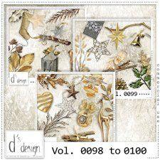 Vol. 0098 to 0100 - Christmas Mix  by Doudou's Design  cudigitals.com cu commercial scrap scrapbook digital graphics#digitalscrapbooking #photoshop #digiscrap