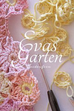 Crochet Motif, Crochet Patterns, Crochet Tutorials, Bunt, Crochet Necklace, Blanket, Fast Crochet, Mantas Crochet, Hand Crafts