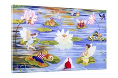 Concert on the Pond Canvas Art