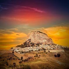 Sutera, province of Caltanissetta, Sicily