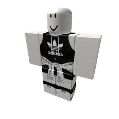 Customize your avatar with the 🌸 Hooded Tank Adidas w/ Flannel 🌸 and millions of other items. Mix & match this pants with other items to create an avatar that is unique to you! Games Roblox, Roblox Funny, Roblox Roblox, Play Roblox, Black Hair Roblox, Roblox Online, Camisa Nike, Roblox Gifts, Roblox Animation