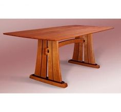 Trestle Dining Table by Heitzman Studios