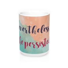 Show your rebellious side with this travel mug inspired by Elizabeth Warren's defiance to the Senate