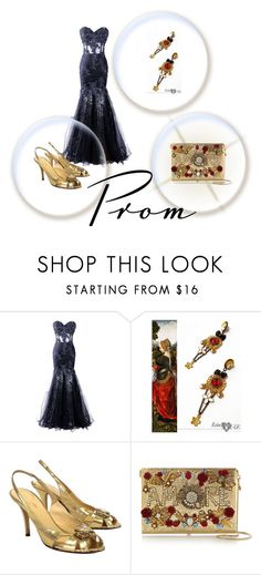Prom by edita-kricenaite on Polyvore featuring Kate Spade, Dolce&Gabbana and modern
